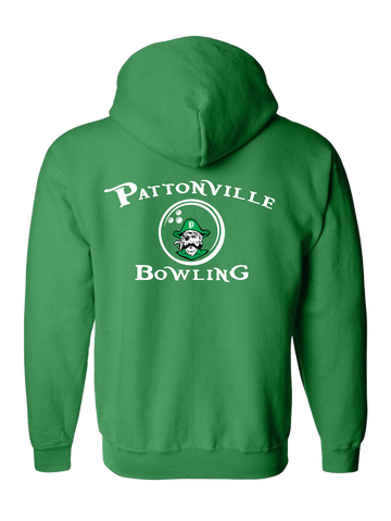 Pattonville Bowling Zip Hoodie (Green or Black)