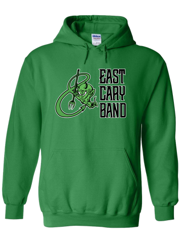 East Cary Band Hoodie (Green or Yellow)