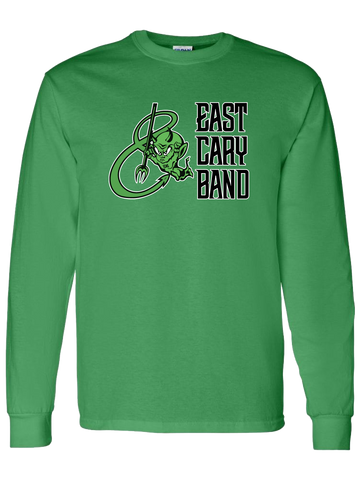 East Cary Band Long Sleeve T-Shirt (Green or Yellow)