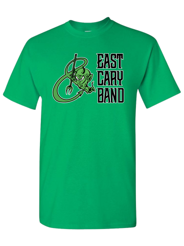 East Cary Band T-Shirt (Green or Yellow)