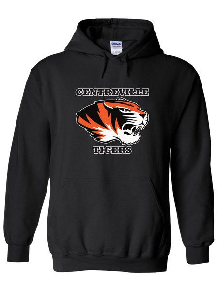 Centreville Tigers Hoodie (Black or Orange)