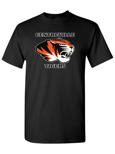Centreville Tigers T-Shirt (Black or Orange)
