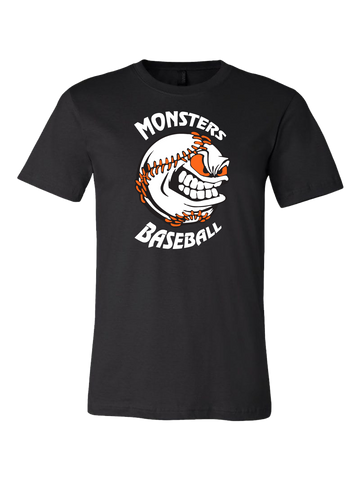 Monster's Baseball Premium T-Shirt (Black or Orange)
