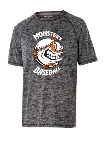 Monster's Baseball Premium Perf T-Shirt (Black or Orange)
