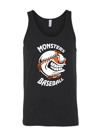 Monster's Baseball Premium Tank Top (Black or Orange)