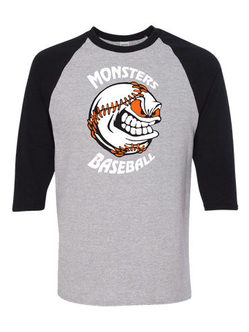 Monster's Baseball Raglan Shirt
