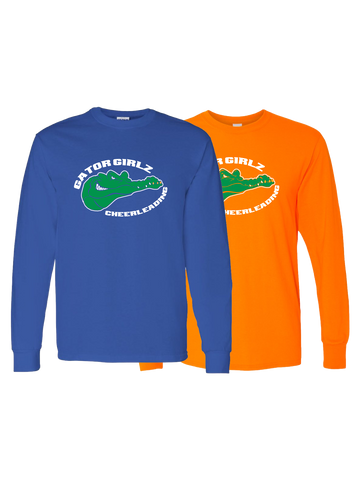 Gator Girlz Cheerleading Long Sleeve