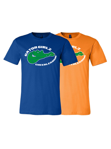 Gator Girlz Cheerleading Premium T-Shirt