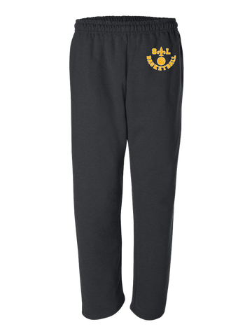 Saint Louis Saints Basketball Sweatpants (Black or Red)
