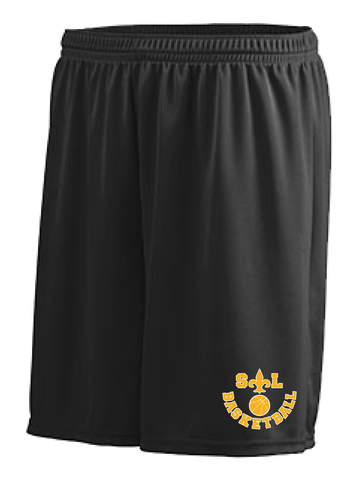 Saint Louis Saints Basketball Performance Shorts (Black or Red)