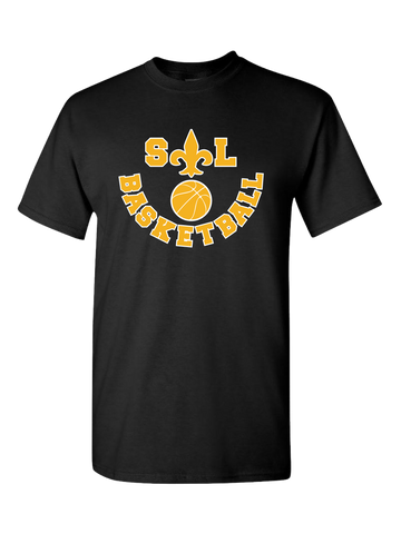 Saint Louis Saints Basketball T-Shirt (Black or Red)