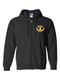Saint Louis Saints Basketball Zip Hoodie (Black or Red)