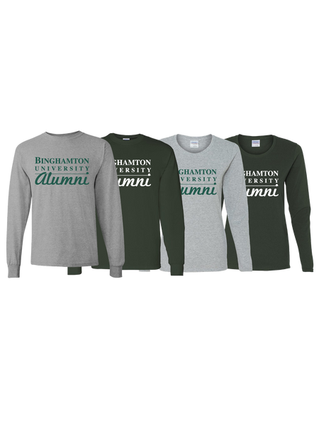 Binghamton University Alumni Long Sleeve T-Shirt