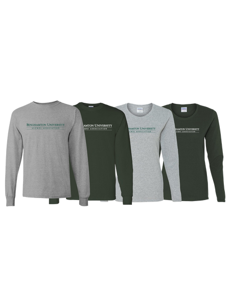 Binghamton University Alumni Association Long Sleeve T-Shirt
