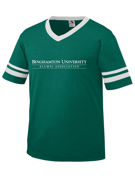 Binghamton University Alumni Association Ringer V-Neck