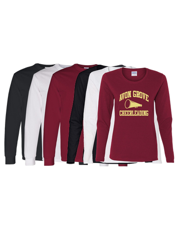 Avon Grove Cheerleading Long Sleeve T-Shirt