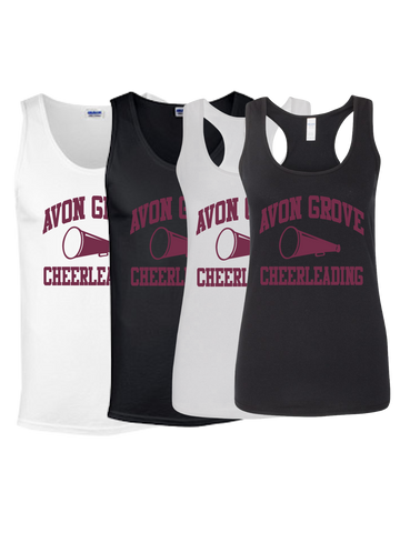 Avon Grove Cheerleading Tank Top