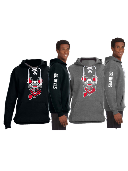 "STHA ""Devils"" Hockey Lace Up Hoodie"
