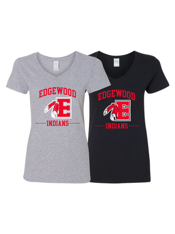 Edgewood Women's V-neck T-shirt