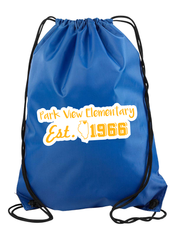Park View Elementary Cinch Bag