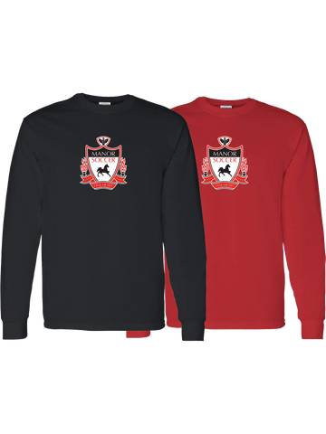 Manor Soccer Long Sleeve T-Shirt