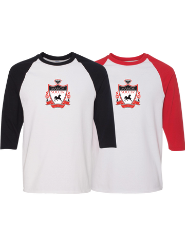 Manor Soccer Raglan Shirt