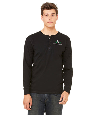 Men's Long-Sleeve Henley