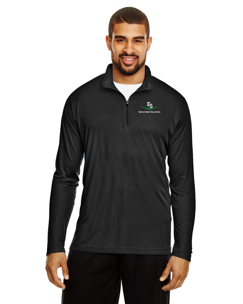 Men's Long-Sleeve Quarter Zip