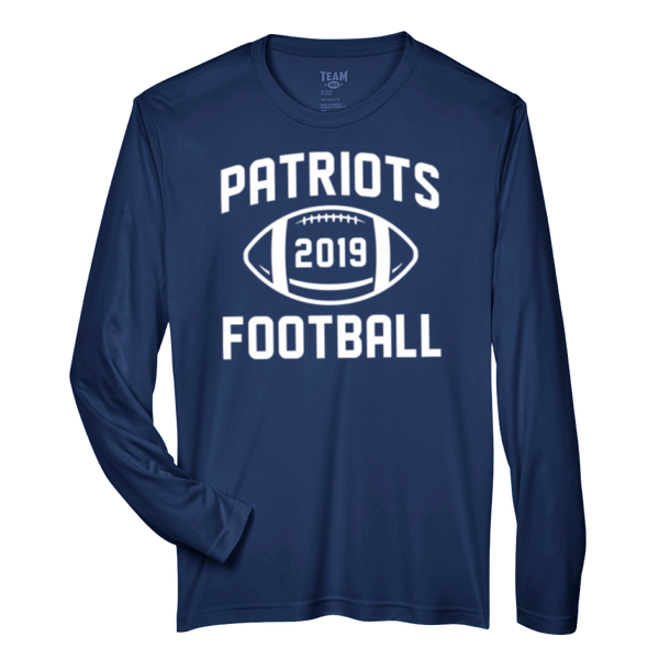 Patriots Football Performance Long Sleeve T-Shirt
