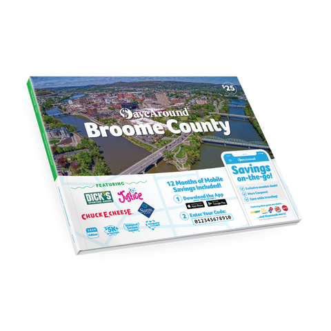 2020 SaveAround® Broome County Coupon Book