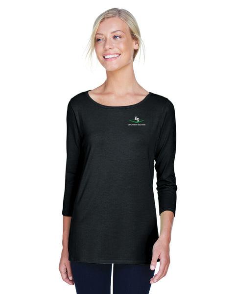 Women's Long-Sleeve Ballet Top