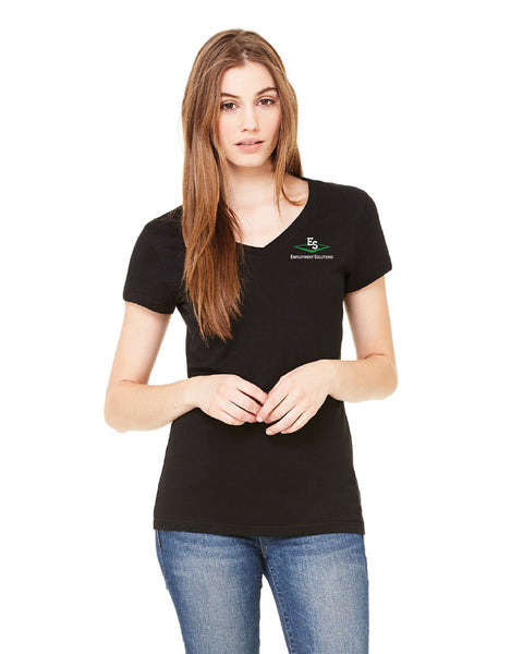 Women's Short-Sleeve V-Neck