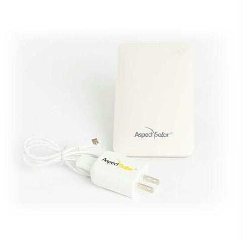 AspectSolar SB30A - 8000 mAh Battery Pack and AC Charger
