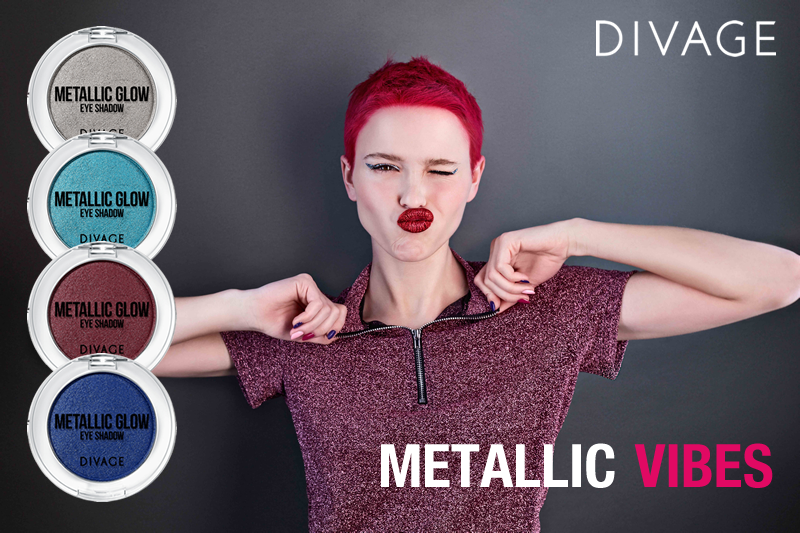 Divage presenta la capsule collection METALLIC VIBES