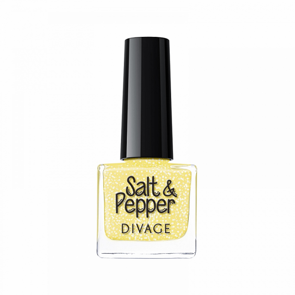 SALT & PEPPER NAIL POLISH - Divage Milano
