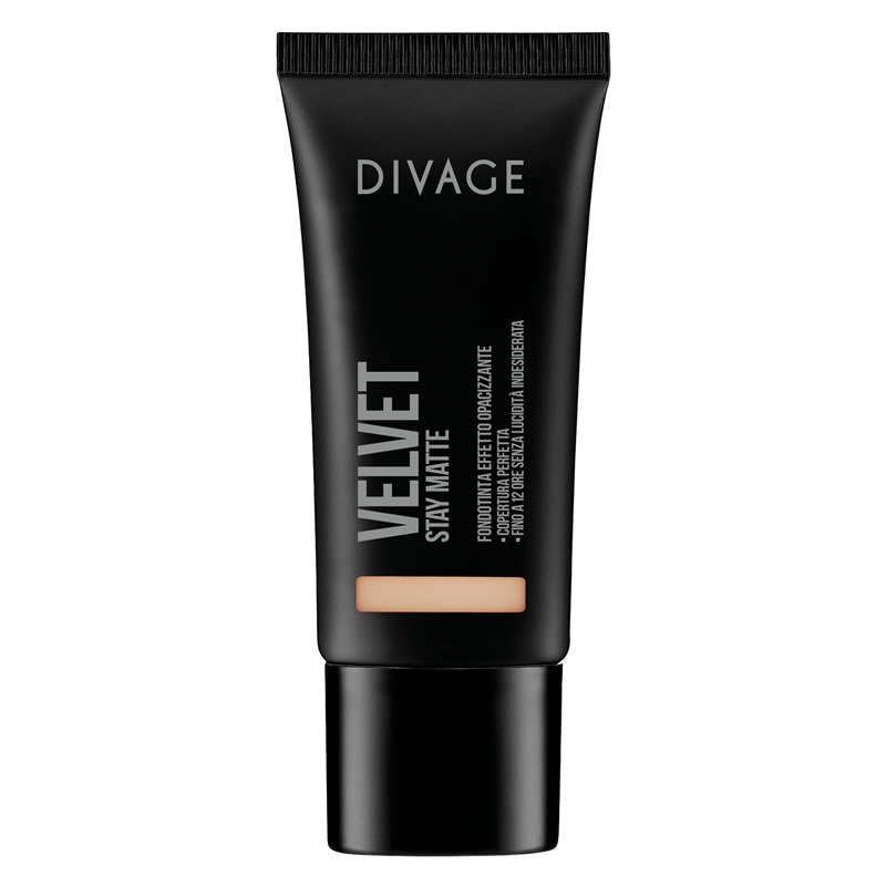 VELVET STAY MATTE FOUNDATION - Divage Milano