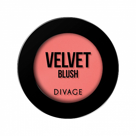 VELVET POWDER BLUSH - Divage Milano