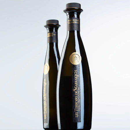 LES TERROIRS DE MARRAKECH organic olive oil. Morocco. Multi Awards winner. The Champagne of olive oil!