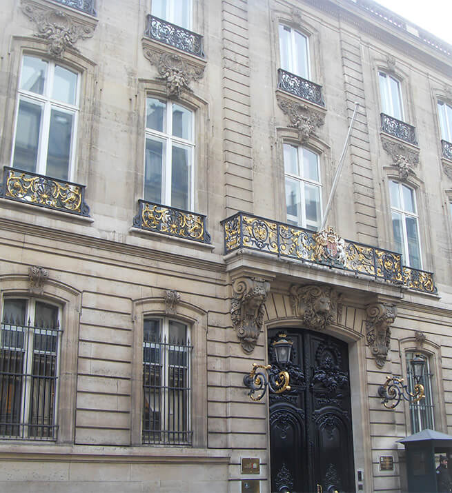 Embassy of United Kingdom in Paris