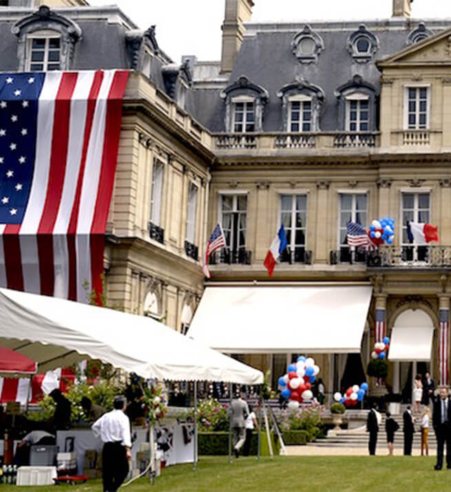 Embassy of USA in Paris