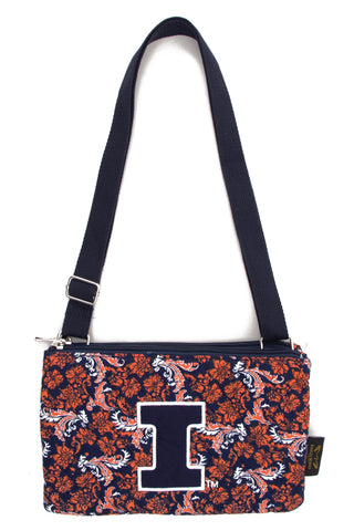 Illinois Bloom CB Purse