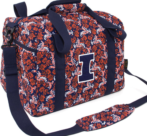 Illinois Bloom Mini Duffle