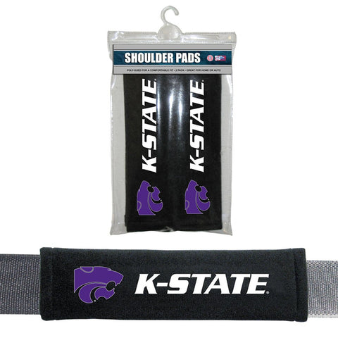 Kansas State Wildcats Velour Seat Belt Pads