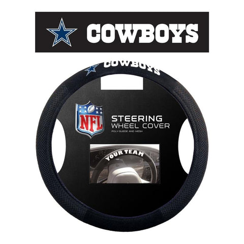 Dallas Cowboys Steering Wheel Cover - Mesh