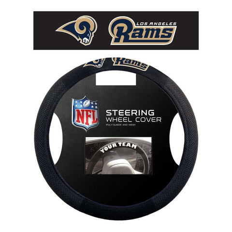 Los Angeles Rams Steering Wheel Cover - Mesh