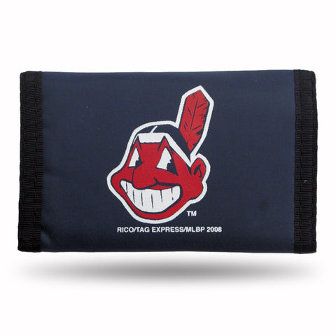 Cleveland Indians Nylon Trifold Wallet