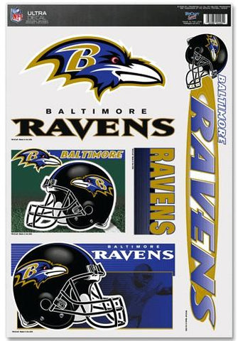 Baltimore Ravens Decal 11x17 Ultra