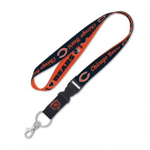Chicago Bears Lanyard with Detachable Buckle