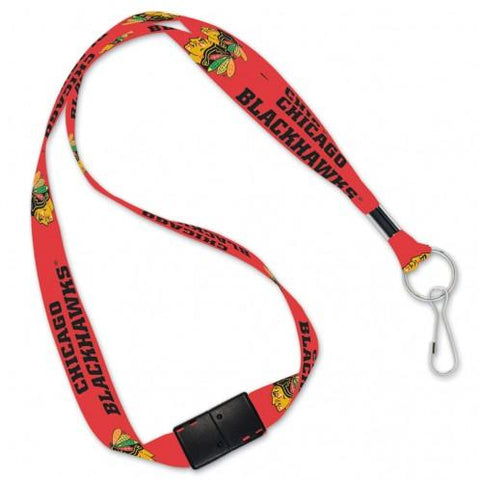 Chicago Blackhawks Lanyard with Key Ring