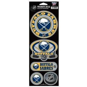 Buffalo Sabres Stickers Prismatic